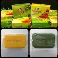 PONTINA SOAP ORIGINAL / SABUN DUO HERBAL PONTINA