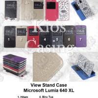 harga Microsoft Lumia 640 Xl - Flip Cover View Stand Case Sarung Tokopedia.com