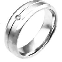 harga Cincin Pria Wanita Couple Pasangan Eternity Titanium Steel Ring Tokopedia.com