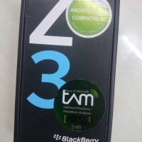Blackberry Z3 Black Brand new out box Garansi resmi TAM