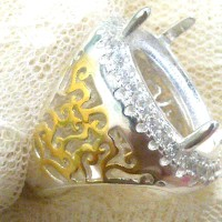harga Silver Ring Frame I - Emban Cangkang Batu Cincin Bahan Perak China Tokopedia.com