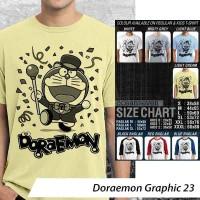 Kaos OceanSeven Doraemon G23 [READY STOCK] Tees S-XXXL & Raglan M-XL
