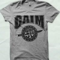 T-shirt Kaos Superhero Kamen Rider Team Gaim abu