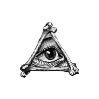ILLUMINATI EYE - Temporary Tattoo Import