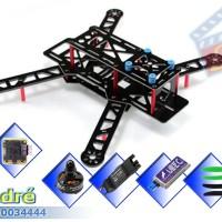 """Kit Quad Race FPV250 FC """"QAV250"""" Fibre Glass Combo"""