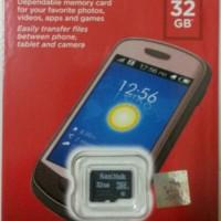harga Micro Sd Sandisk 32gb /memory Card Microsd 32 Gb Sdhc Class 4 Original Tokopedia.com