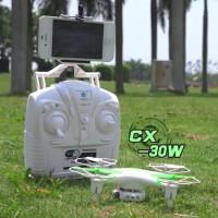 RC Quadcopter Drone Camera Live Via Smartphone CX-30W RTF Free Ongkir