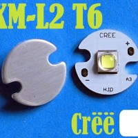 harga Led Cree Xm-l2 T6 Led White Emitter Usa 16mm Aluminium Base Tokopedia.com
