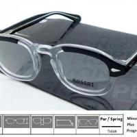 Kacamata Frame Moscot Lemtosh Black Crystal