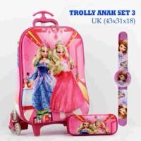 "Tas Anak Trolly ""Barbie"""