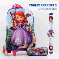 harga Tas Tas Anak Trolly Princess Sofia Tokopedia.com