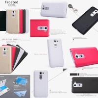 Hardcase Nillkin Super Frosted Hard Cover Casing Case Lg G2 Mini D618