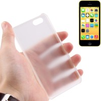 Ultra Thin 0.5mm Scrub Plastic Case for iPhone 5C