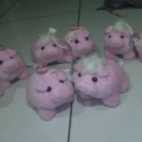 harga paket love ! powerbank boneka baby pink sepasang Tokopedia.com