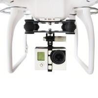 Gimbal Carbon Fiber & Shock Absorber untuk DJI Phantom Quadcopter