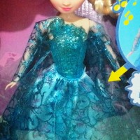 Boneka Frozen (Princess Elsa) Suara/Lagu Many Features inside using ba