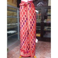 Kamben Bali Motif Rang Rang Merah