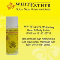 (White Esther) Hand Body Lotion BPOM