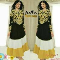 048 baju india jodha akbar ratu india