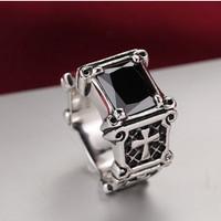 harga Luxuriouz Titanium Ring Cross Black Onyx / Cincin Salib Titanium Tokopedia.com