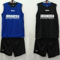 Training Jersey basket / jersey latihan Indonesia Basketball