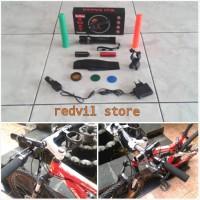 harga Senter LED Police  Murah Terlengkap  Bonus Bracket sepeda Tokopedia.com