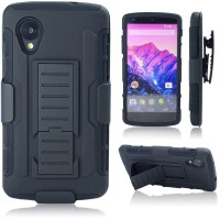 Lg Nexus 5 Armor Case With Holster / Penjepit Pinggang