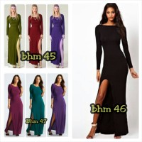 Maxi Dress Menyusui Trandy - BHM 45,46,47
