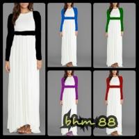 Maxi Dress Hamil Menyusui - BHM 88