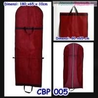 Jual Tas Pelindung Baju Pesta Maron (p180cm) l Cover Gaun Pengantin -CBP005 Murah