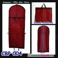 harga Tas Pelindung Baju Pesta Maron (p155cm) L Cover Gaun Pengantin -cbp004 Tokopedia.com