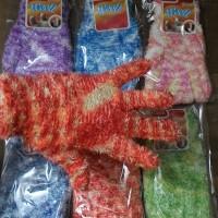 harga sarung tangan rajut bulu sembur (import) Tokopedia.com