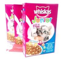 Whiskas Junior Box 450 gr - Cat Food Makanan Kucing Kering - Dry Food