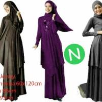 amelia stelan Hijab 3in1/ Grosir Pakaian Muslimah Jakarta