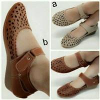 harga Sandal Sepatu Wedges Wanita Cantik M2m Tokopedia.com