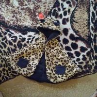 Selimut bayi / Jaket Bayi / Babycape Special Edition : Leopard X