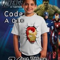 harga kaos 3d anak avenger- kaos keren-kaos anak-kaos distro Tokopedia.com