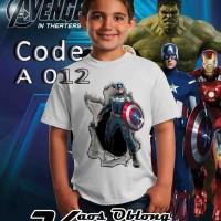 kaos 3d anak avenger- kaos keren-kaos anak-kaos distro