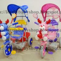 harga Tricycle (Sepeda Roda Tiga) Family 993BT Rusa Tokopedia.com