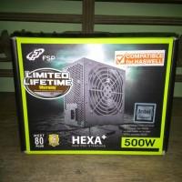 FSP Power Supply HEXA + 500w. Garansi Resmi ME