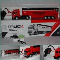 RC big truck trailer seri scania meander 4channel batre cas