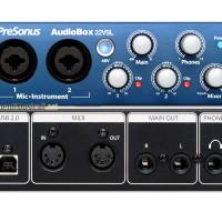 jual soundcard recording presonus audiobox 22vsl murah di bandung
