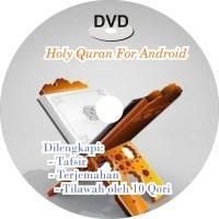 DVD APLIKASI LENGKAP HOLY QURAN MUSHAF AL MADINAH FOR ANDROID