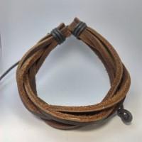 harga Gelang Kulit Pria Leather Bracelet Men 6 Tokopedia.com