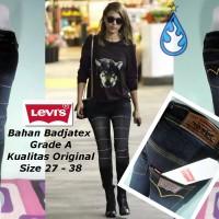 harga Celana Jeans Levis Black Spray Ripped Ykk Zipper Tokopedia.com