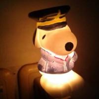 Lampu tidur snoopy