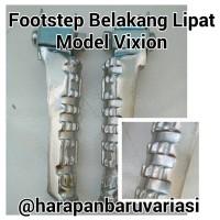 Footstep Belakang Lipat Model Vixion Chrome