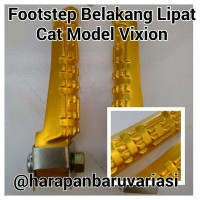 Footstep Belakang Lipat Model Vixion Cat