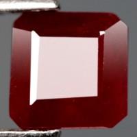 harga 1.56CT.DAZZLING! SCISSOR CUT TOP BLOOD RED NATURAL RUBY MADAGASCAR Tokopedia.com