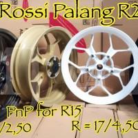 harga Velg / Pelek Tapak Lebar Rossi Pnp R15 Model Palang R25 Tokopedia.com